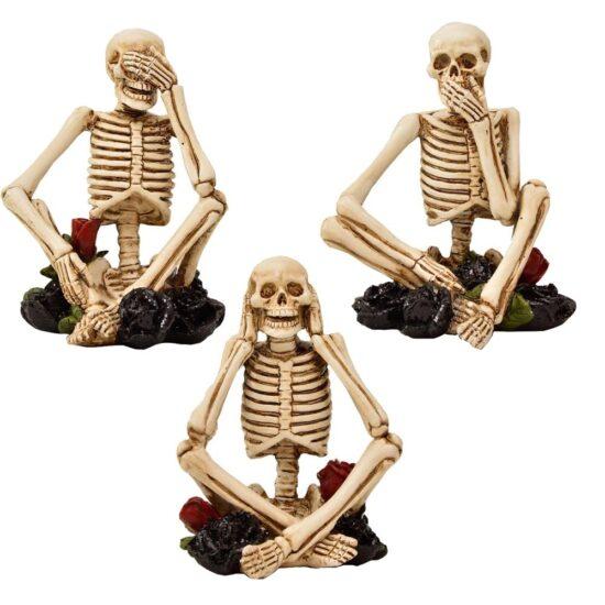 Esqueletos decorativos