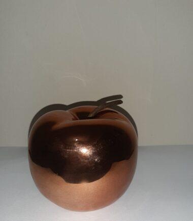 Maçã de Cerâmica em Cobre