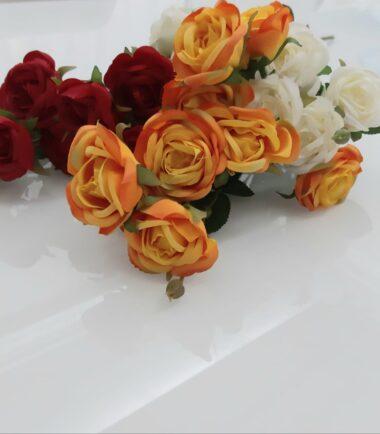 Galho de Rosas Real Toque