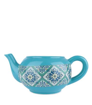 Cachepot de Cerâmica Teapot Portuguese Tile